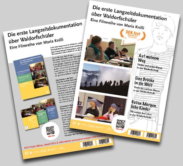 Infoflyer Langzeitdokumentation Waldorfschule